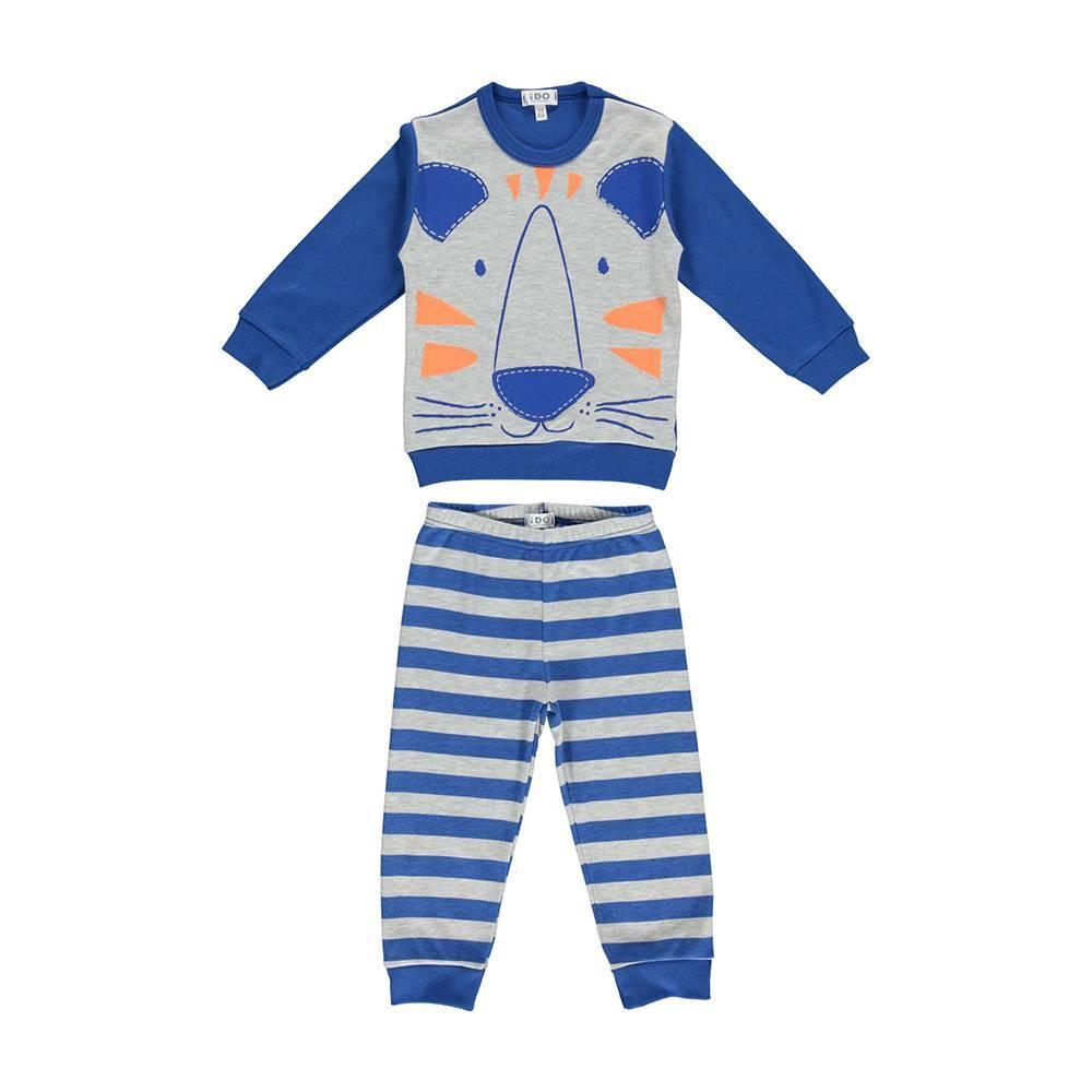 Пижама для мальчика iDO демисезонная хлопок трикотаж принт 4.U091.00/3542