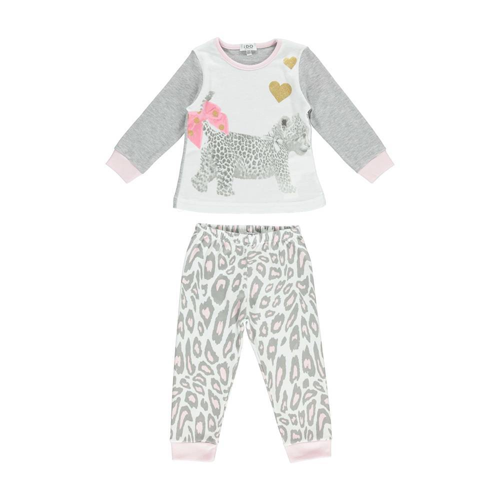 Пижама для девочки iDO хлопок трикотаж 4.U162.00/0513