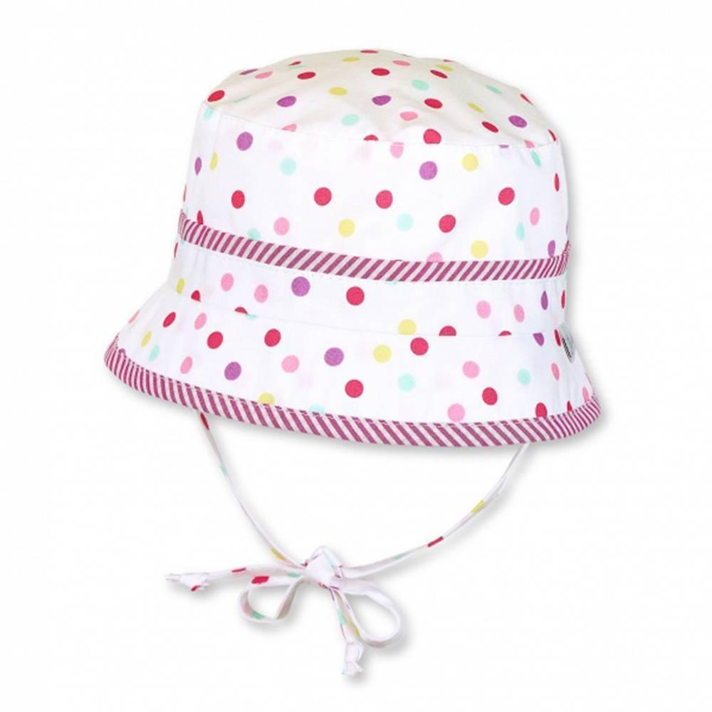 Панамка для девочки STERNTALER летняя хлопок на завязках 1401814/500