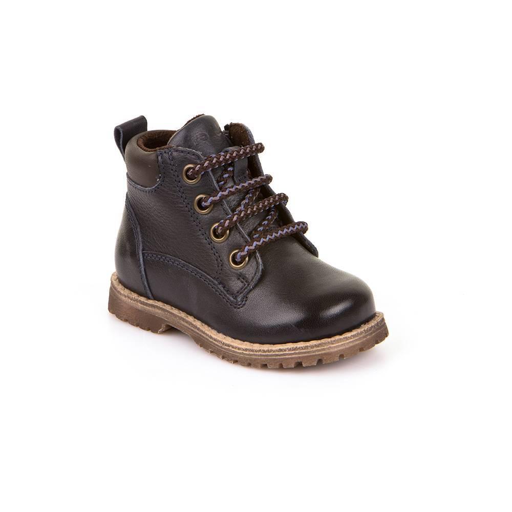 Ботинки для мальчика Froddo натуральная кожа демисезонные на молнии на шнурках G2110062