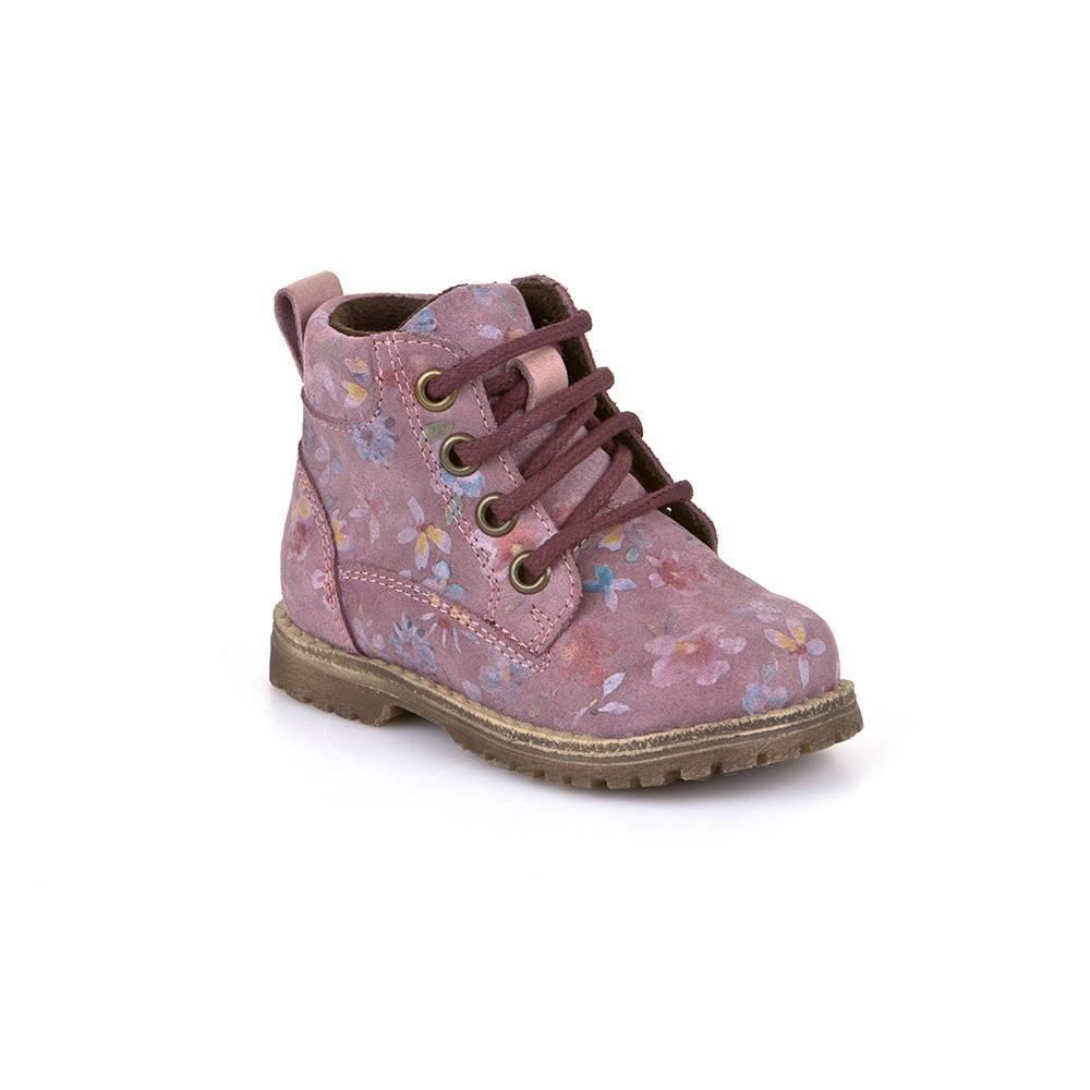 Ботинки для девочки Froddo демисезонные на шнурках на молнии G2110062