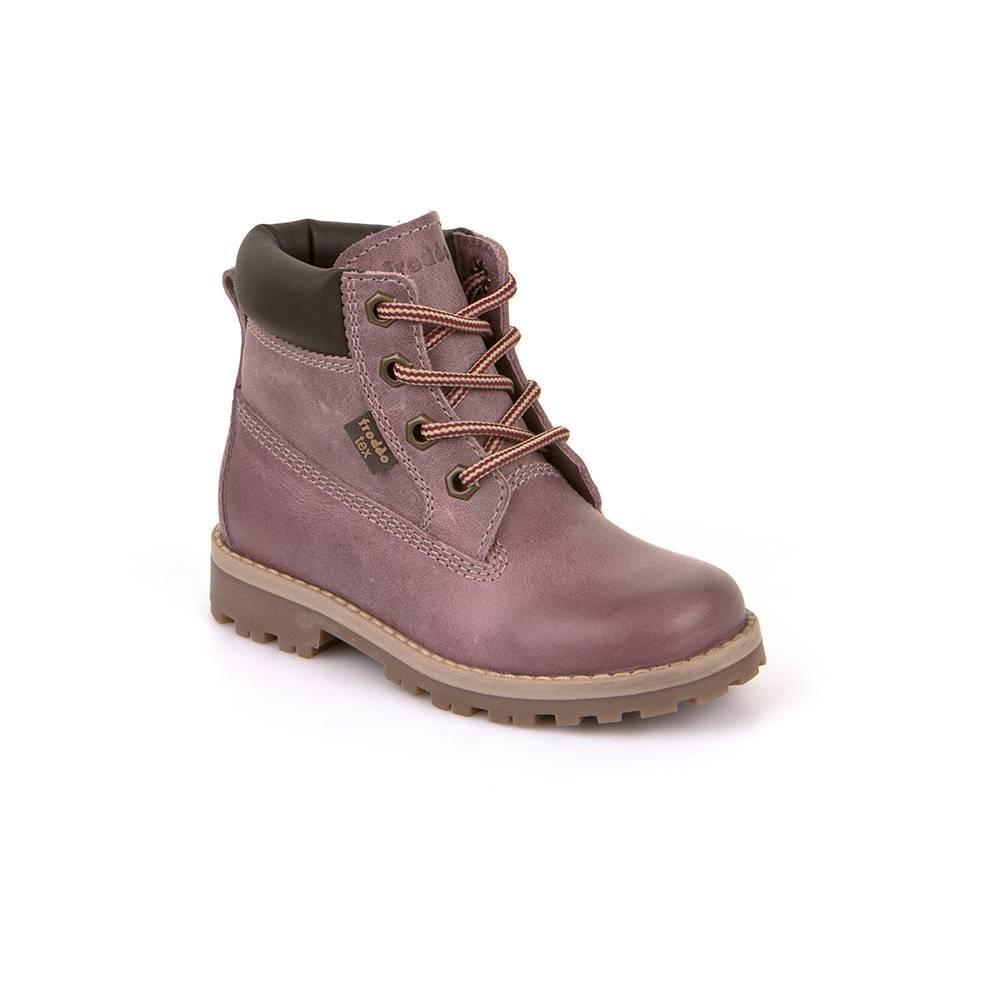 Ботинки детские Froddo демисезонные на молнии на шнурках FRODDO TEX G3110113