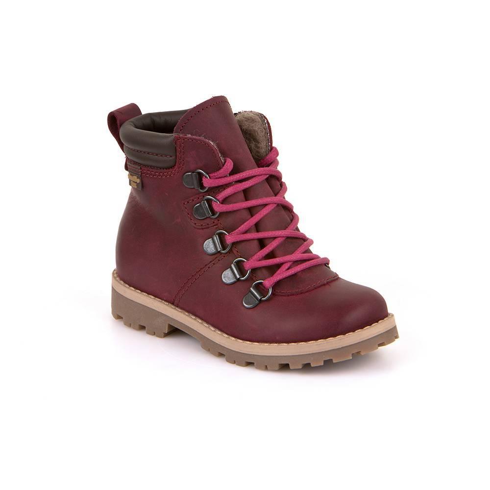 Ботинки для девочки Froddo демисезонные молния шнурки FRODDO TEX G3110115