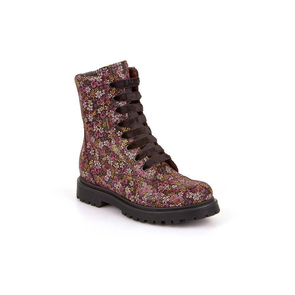 Сапоги для девочки Froddo демисезонные на молнии на шнурках Froddo TEX G3110117