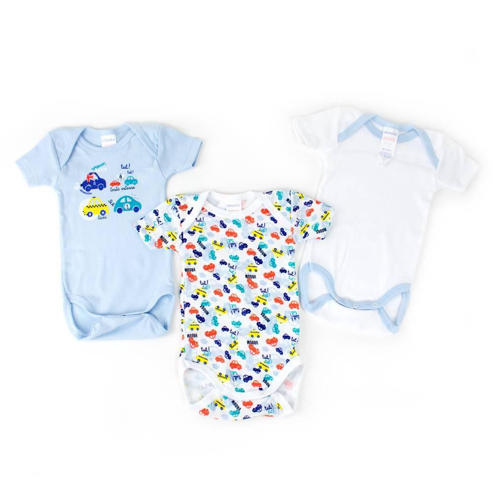Боди комплект для новорожденного мальчика ABSORBA летний хлопок трикотаж 6L60046/43