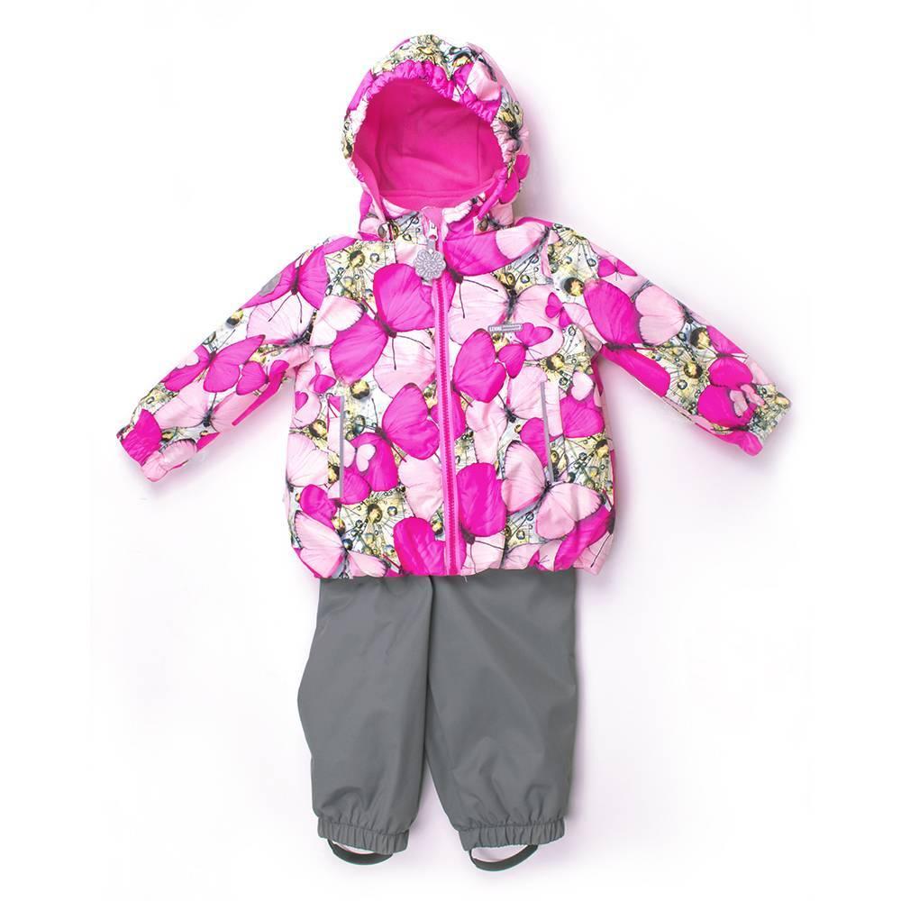 Комплект демисезонный для девочки куртка полукомбинезон LENNE ROSY 18211/1270