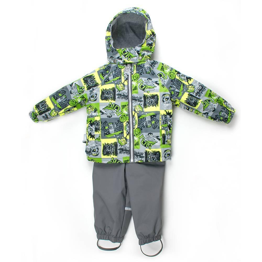 Комплект демисезонный для мальчика куртка полукомбинезон MONRY LENNE 18214/1040