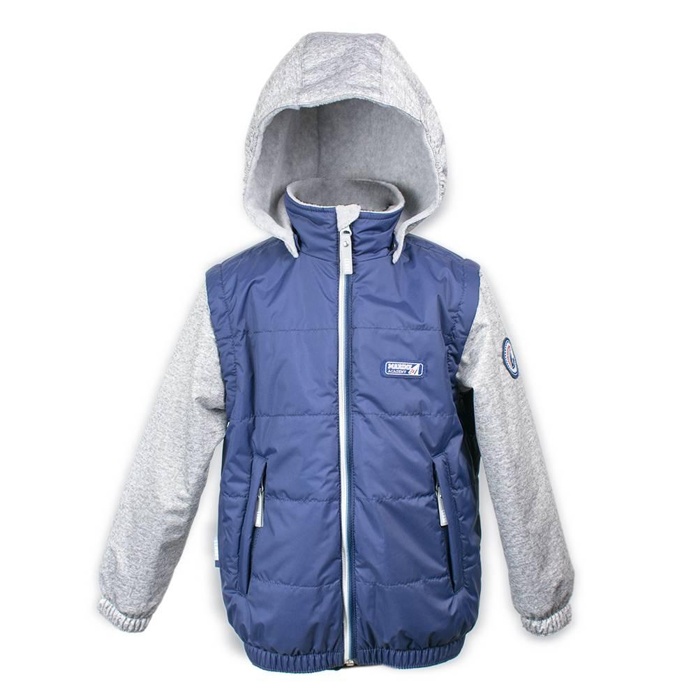 Куртка демисезонная для мальчика LENNE JAMES с капюшоном 18222/229