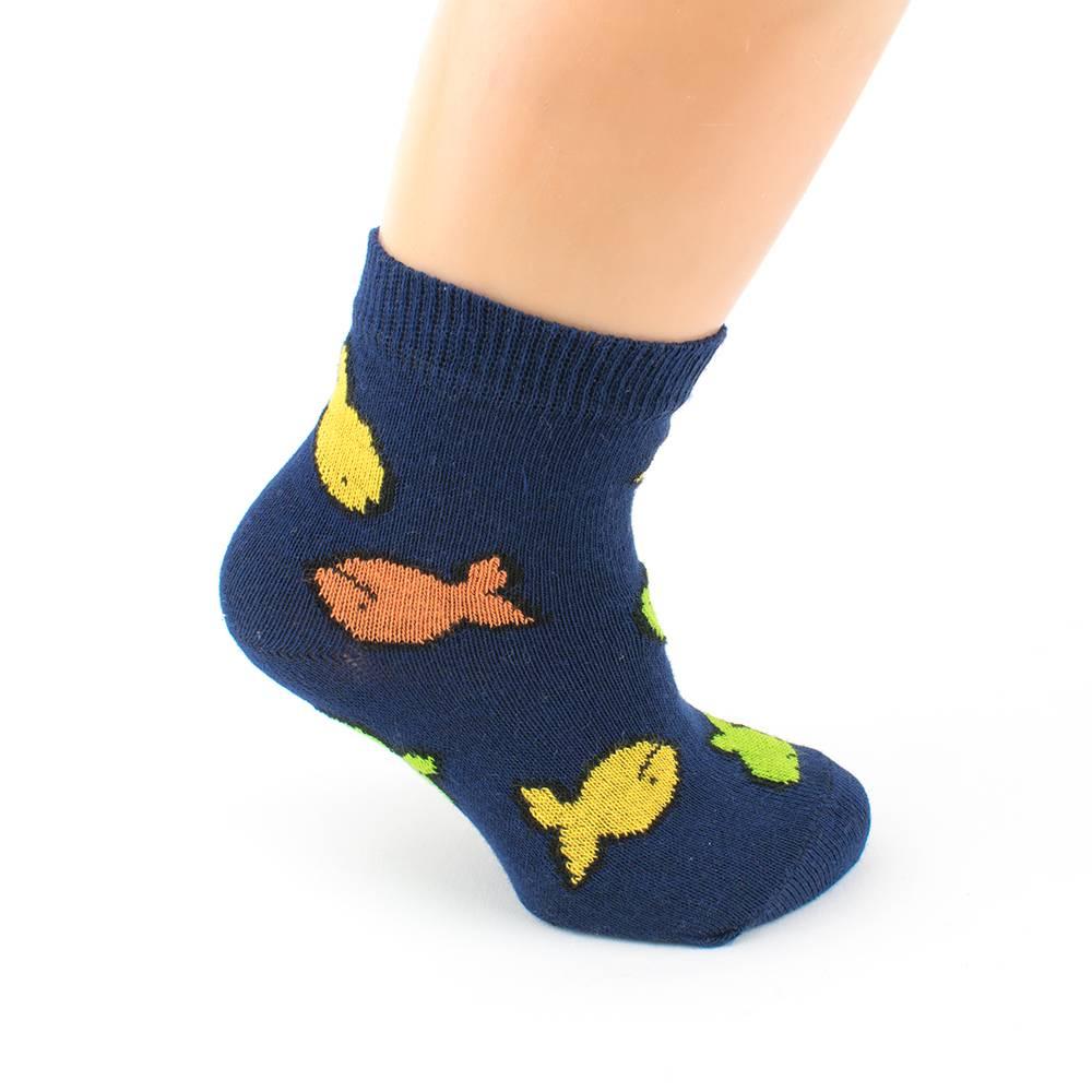 Носки для мальчика WERI Spezials трикотаж эластичные жаккард 1001-8
