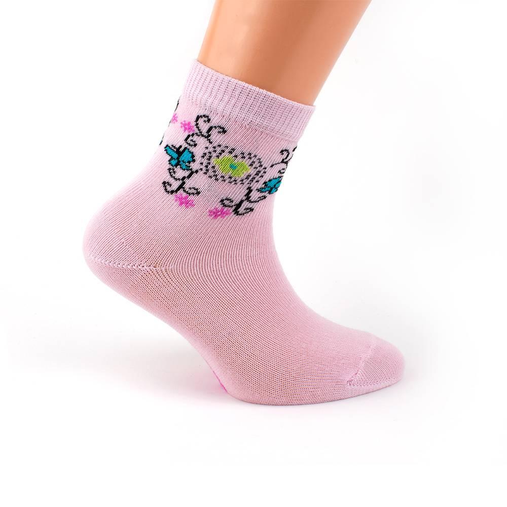 Носки для девочки WERI Spezials 2000-14/pink_G