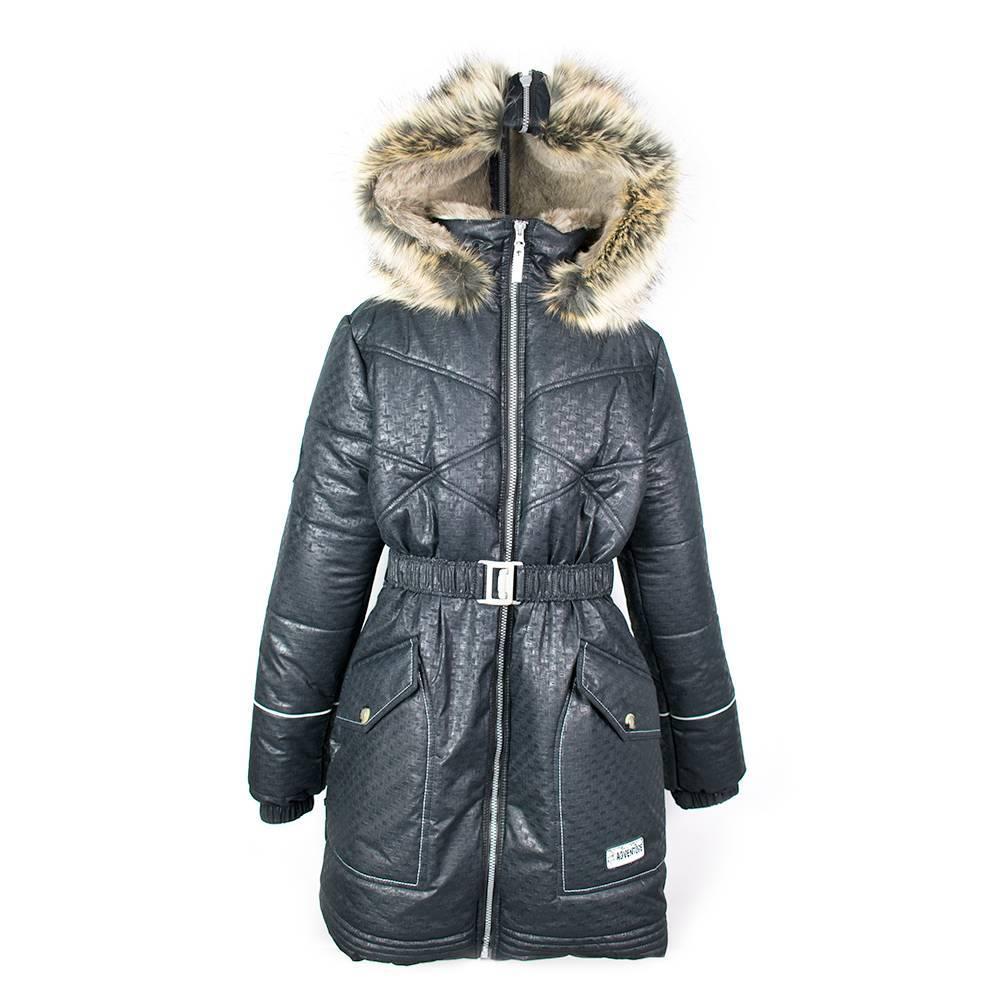 Пальто для девочки LENNE зимний с капюшоном GRETE