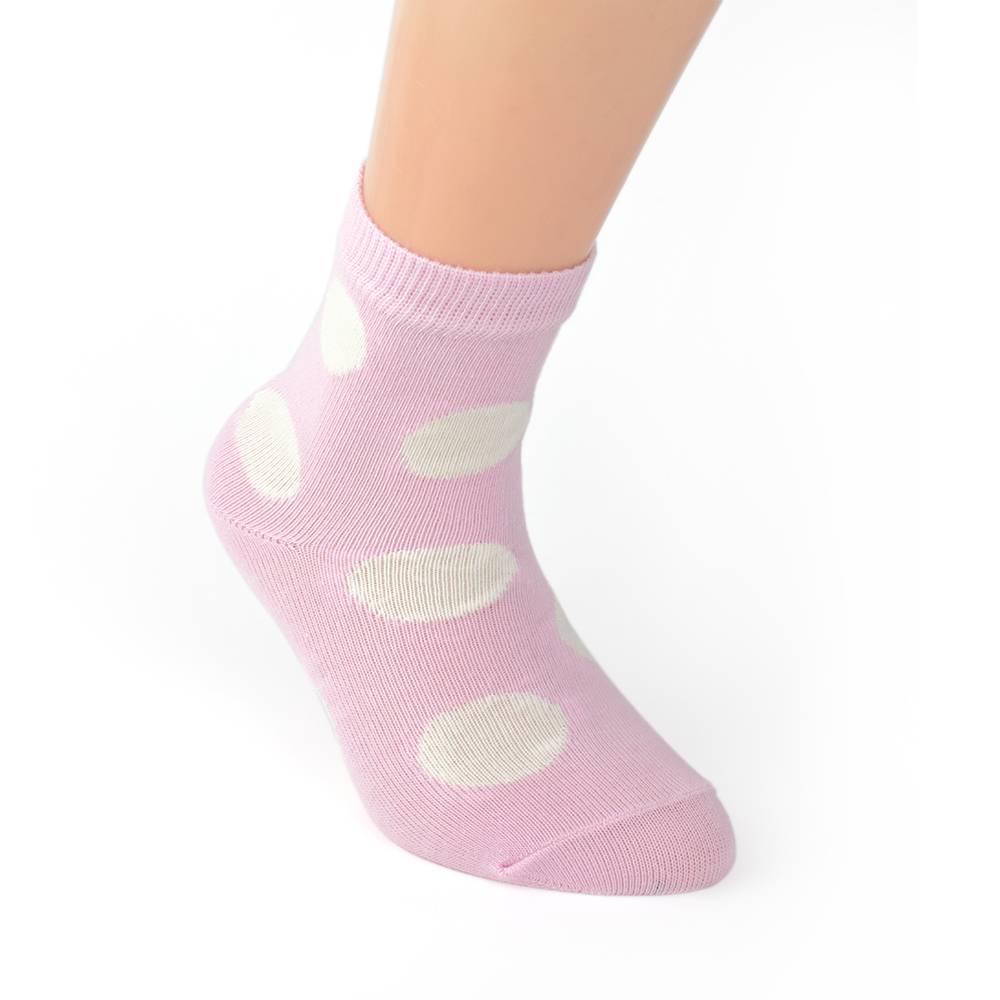 Носки для девочки WERI Spezials принт в горошек