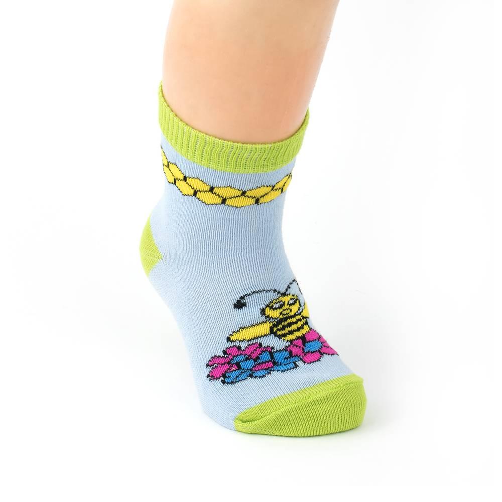 Носки детские єластичные с рисунком WERI Spezials