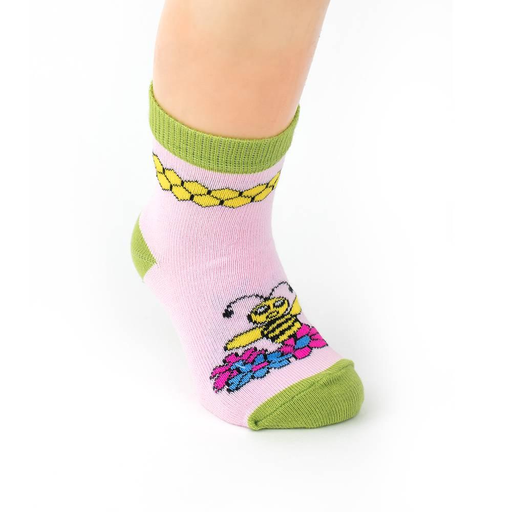 Носки детские эластичные жаккард с рисунком WERI Spezials