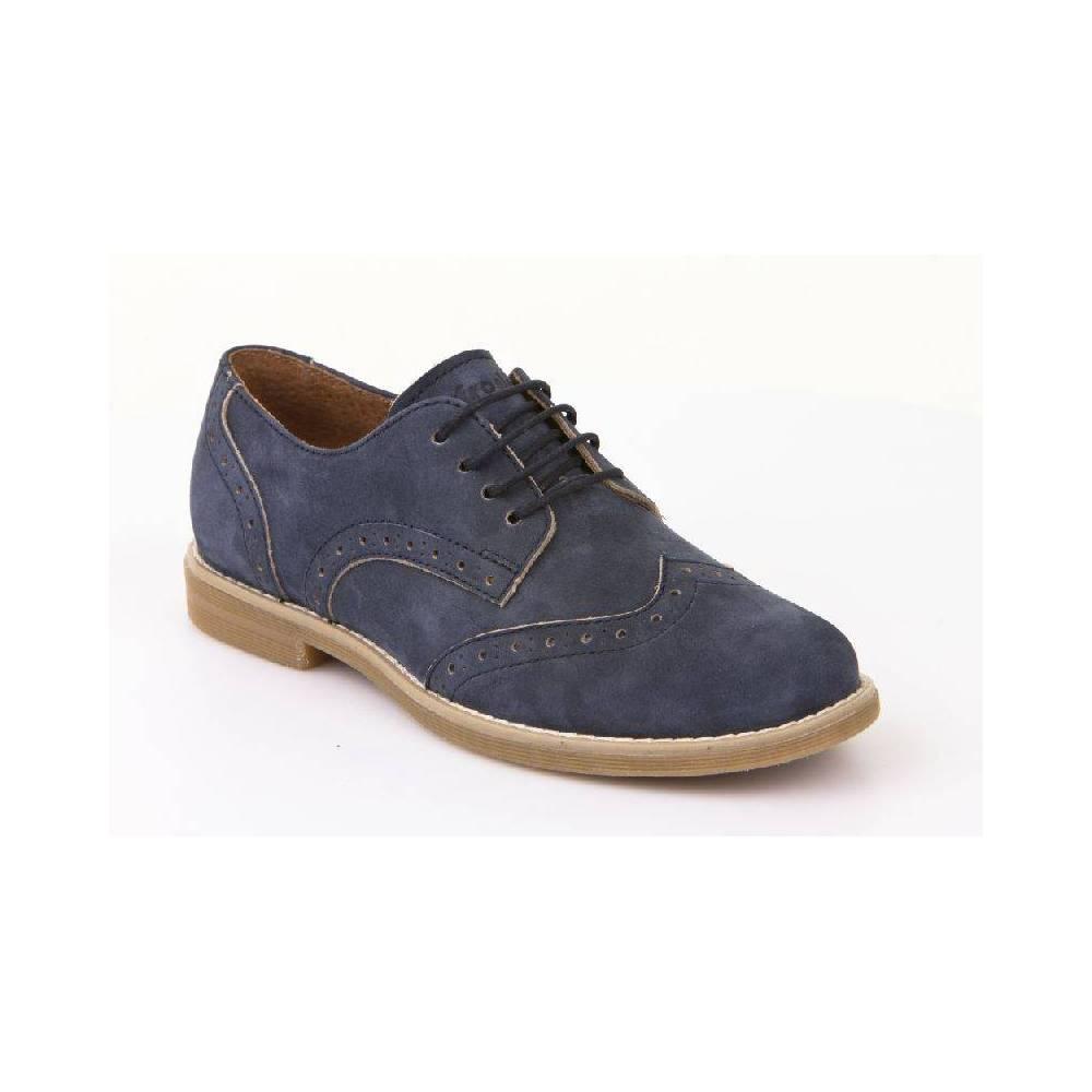 Туфли для мальчика Froddo синий на шнурках G4130055/DarkBlue