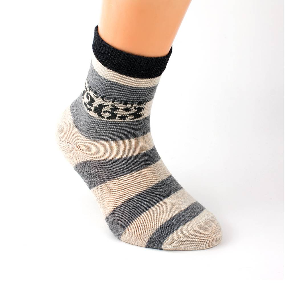 Носки для мальчика WERI Spezials эластичные полосатые 2000-14/