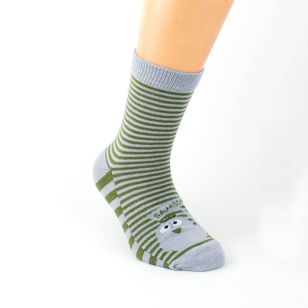 Носки для мальчика WERI Spezials эластичный полосатый 2000-16/