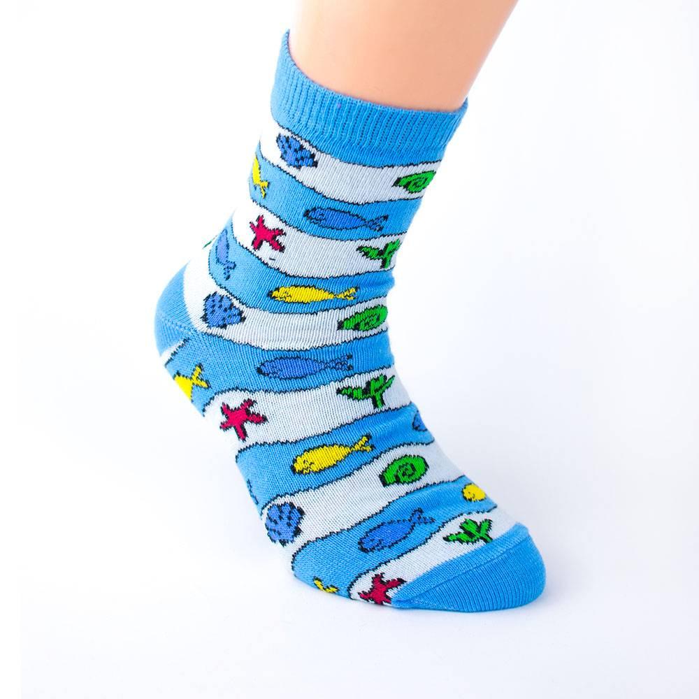 Носки для мальчика WERI Spezials эластичные жаккард 2000-16