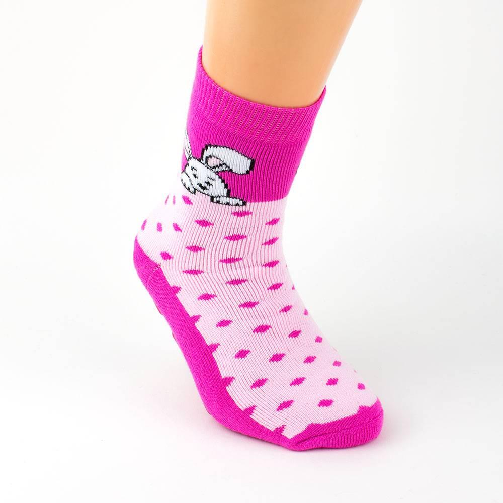 Носки для девочки WERI Spezials антискользящие с рисунком 2011-