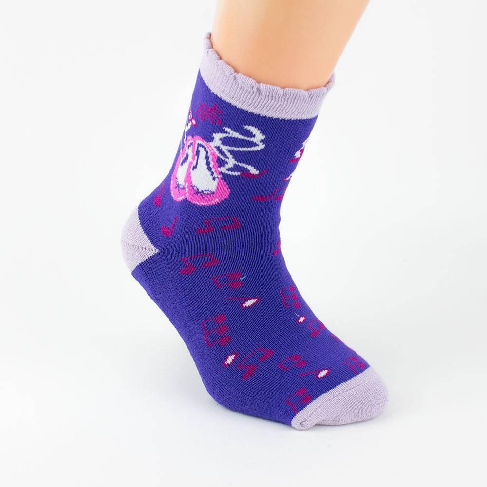 Носки для девочки WERI Spezials махровыеанти скользящие 2011-