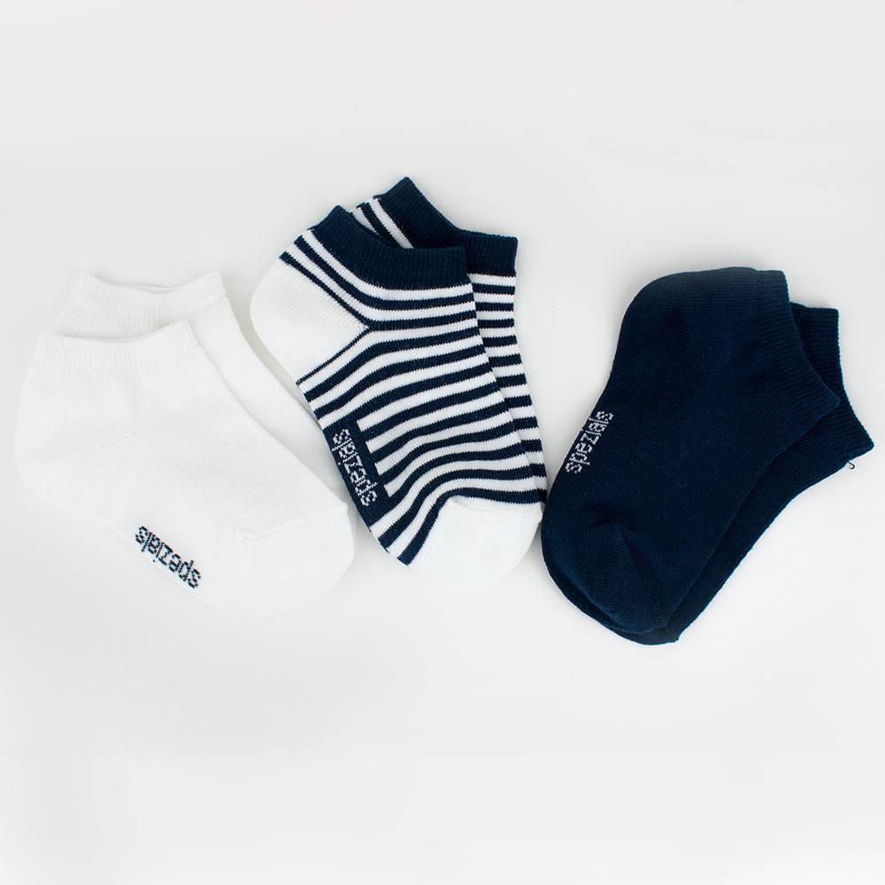 Носки для мальчика WERI Spezials короткие однотонные 3 пары