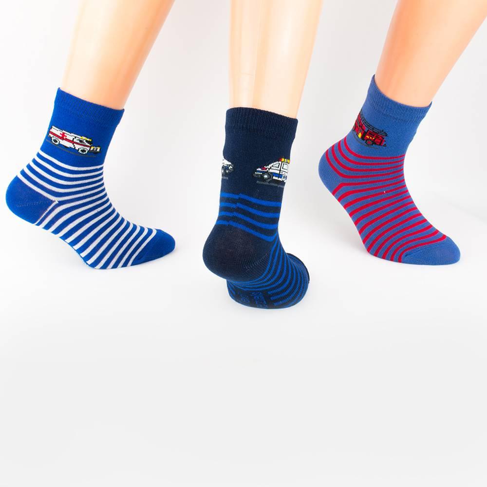 Носки для мальчика с рисунком WERI Spezials 3 пары