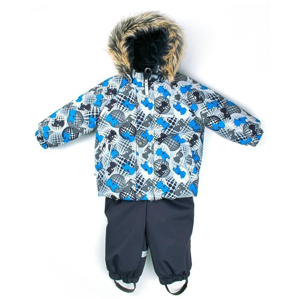 Комплект для мальчика LENNE зимний куртка полукомбинезон ZOOMY