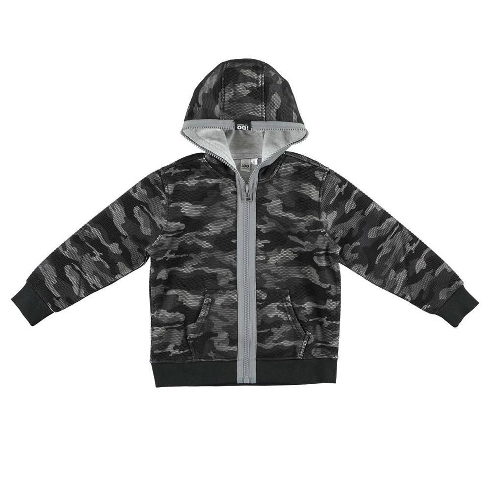 Куртка для мальчика iDO демисезонная камужляжная расцветка 4.V740.00/6EN2