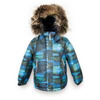 Куртка для мальчика LENNE зимняя съемный капюшон натуральная опушка Aсtive ALEX 18340F/6350