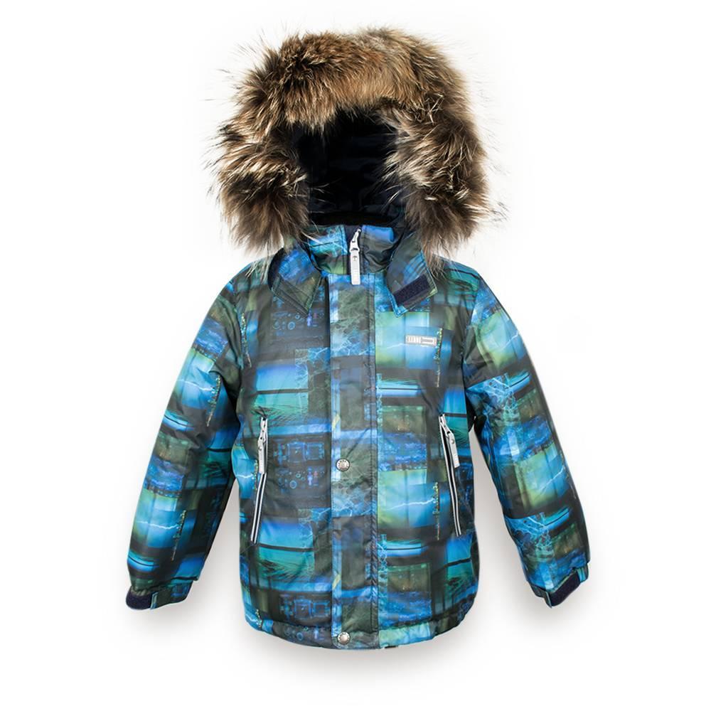 Куртка для мальчика LENNE зимняя съемный капюшон натуральная опушка Aсtive ALEX