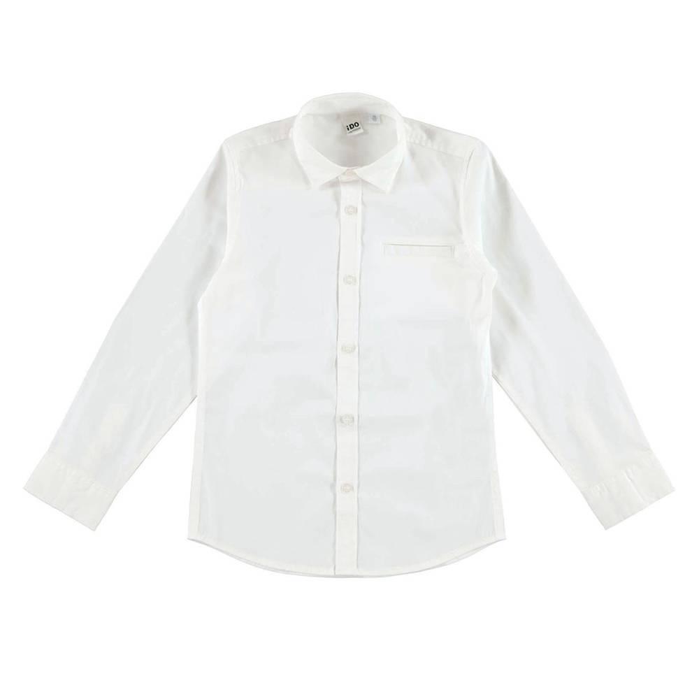 Рубашка для мальчика iDO подросток классика 4.V701.00