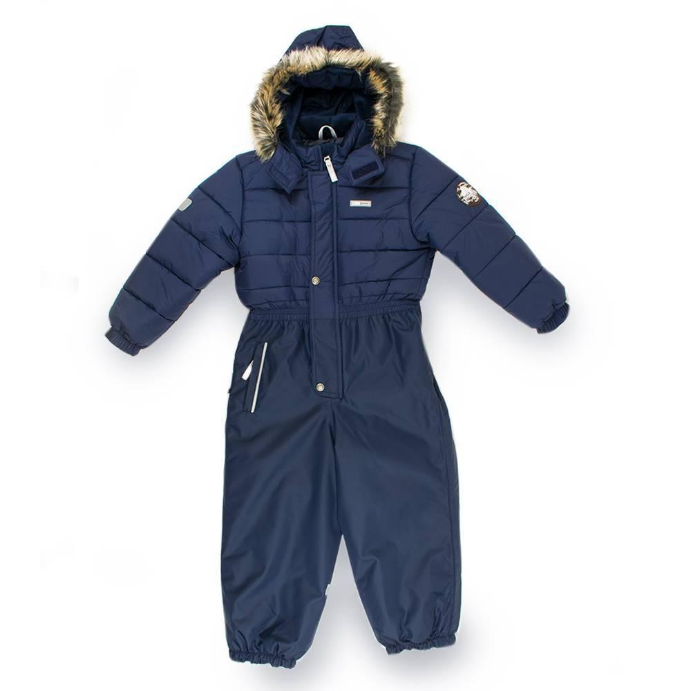 Комбинезон для мальчика LENNE зимний цельный капюшон и опушка съемные SHAUN 18325/229