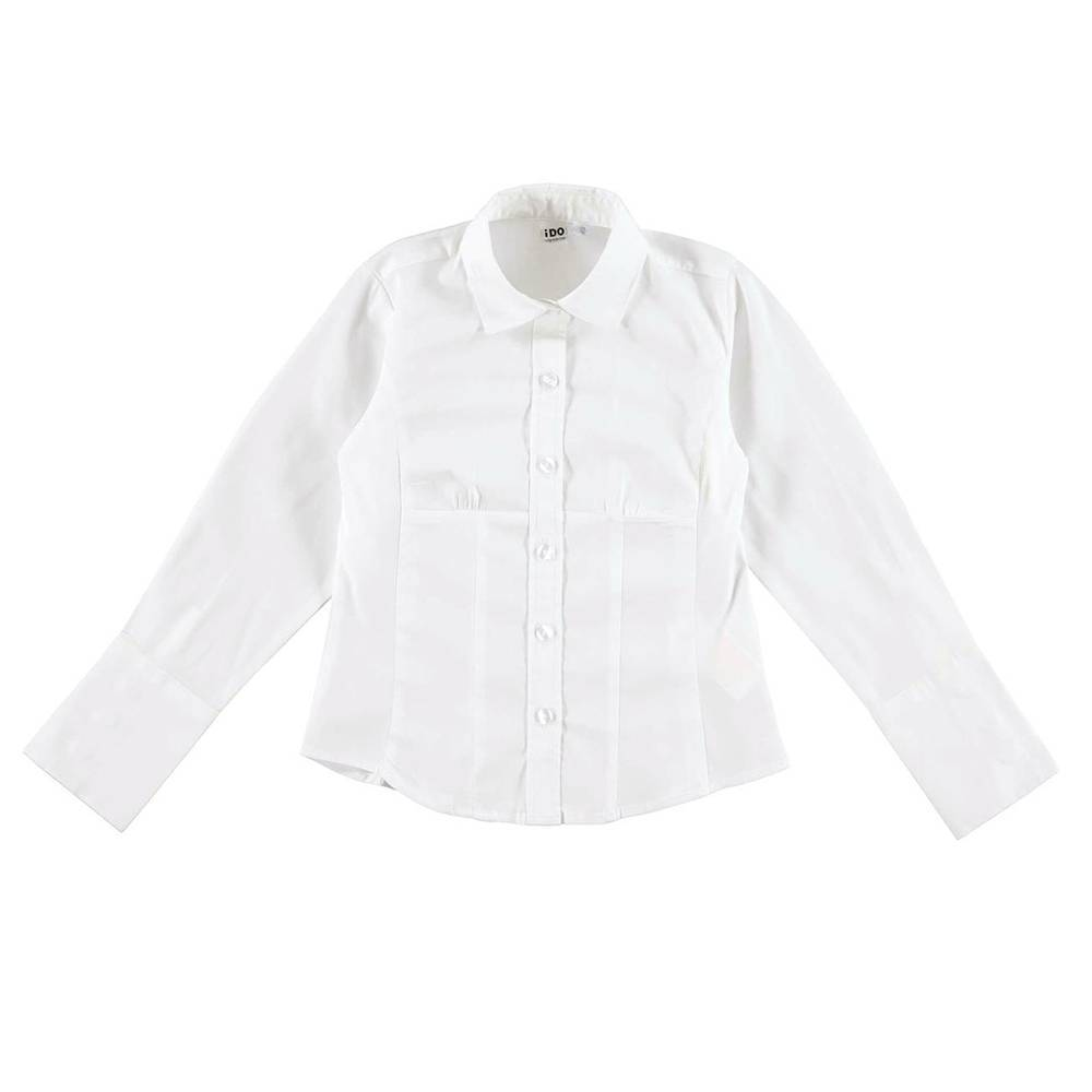 Рубашка для девочки iDO подросток класика школа 4.V909.00/0113