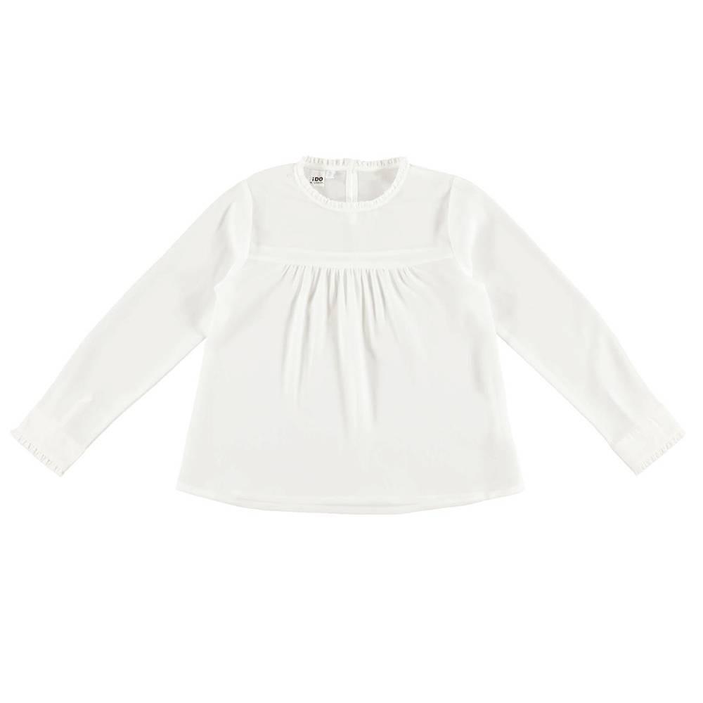 Блуза для девочки iDO подросток декорирована рюшами 4.V 929.00/0112