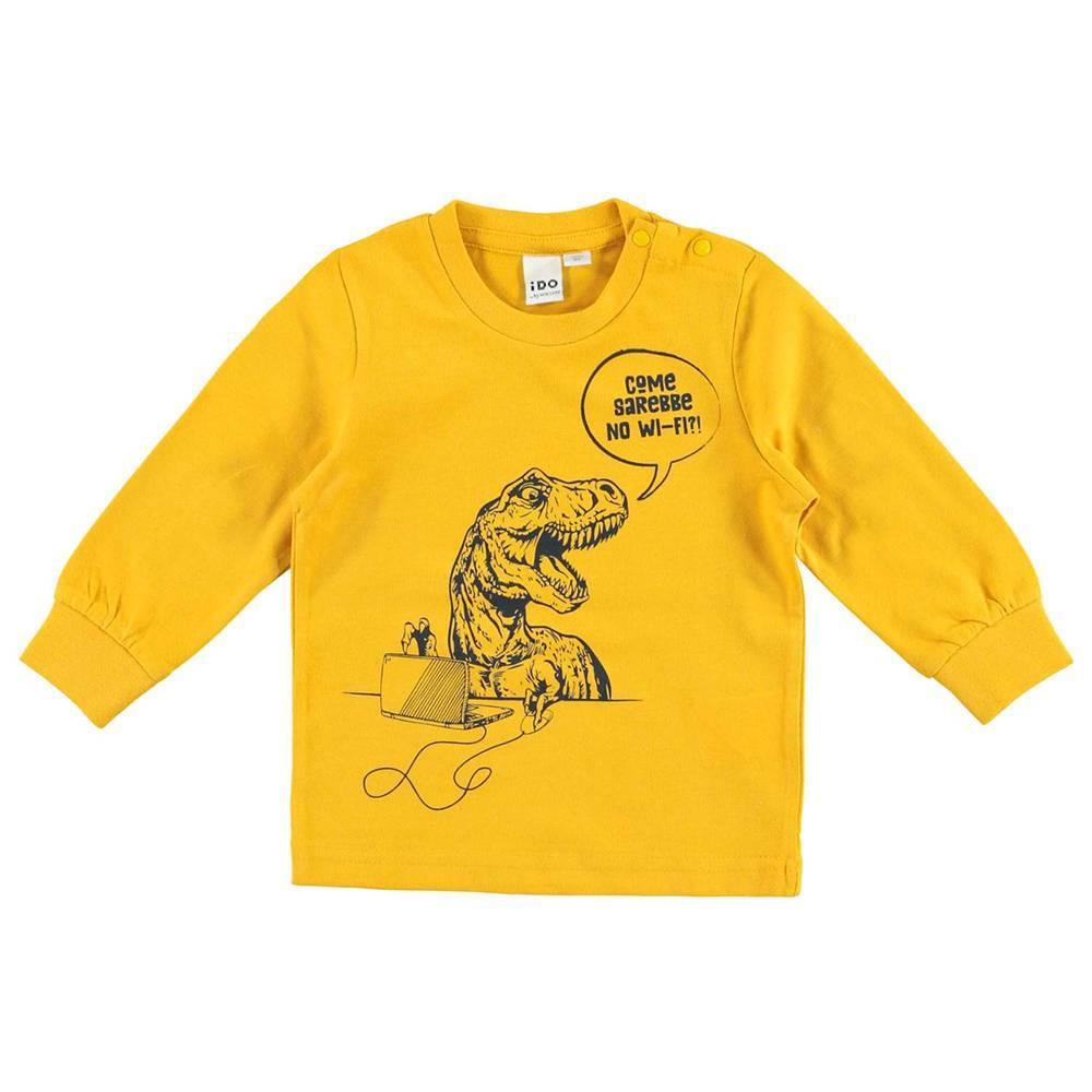 Реглан для мальчика DO трикотаж хлопок украшен комиксами 4.V513.00/1615