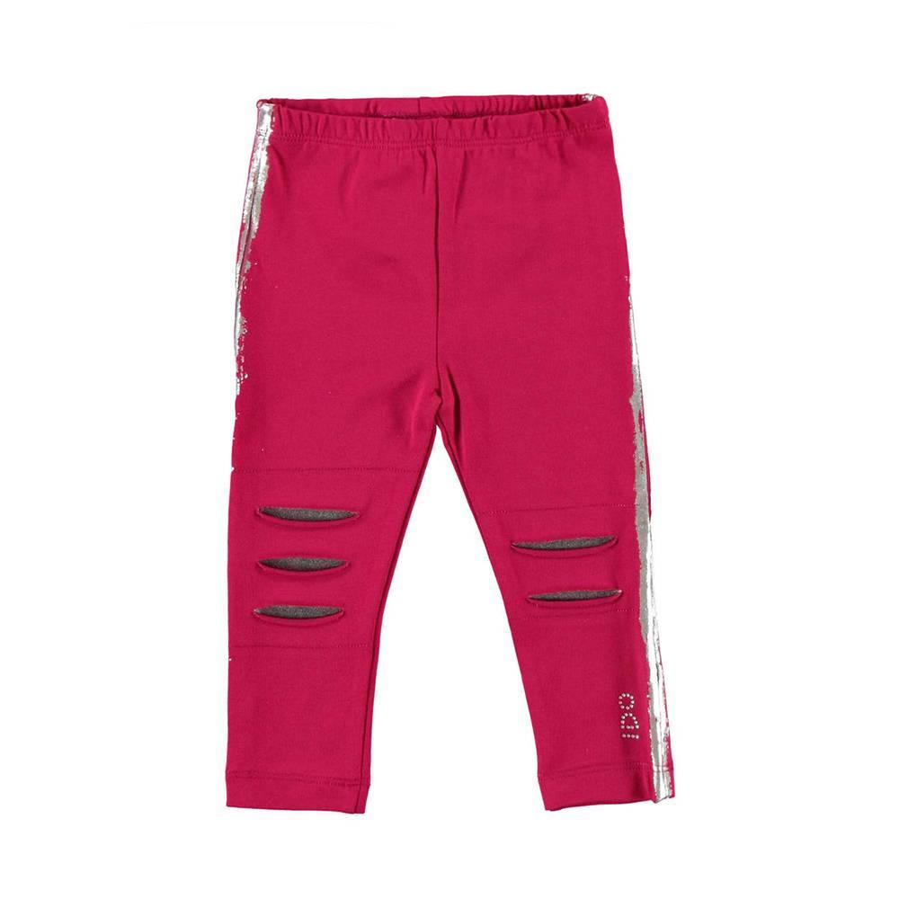Леггинсы для девочки iDO розовый стрейч хлопок 4.V663.00/5830