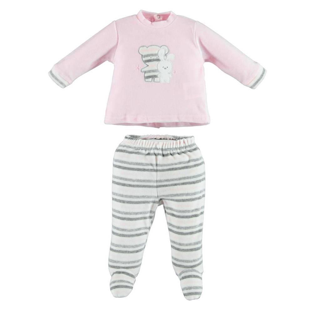 Комплект для новорожденных iDO велюровый реглан ползунок 4.V233