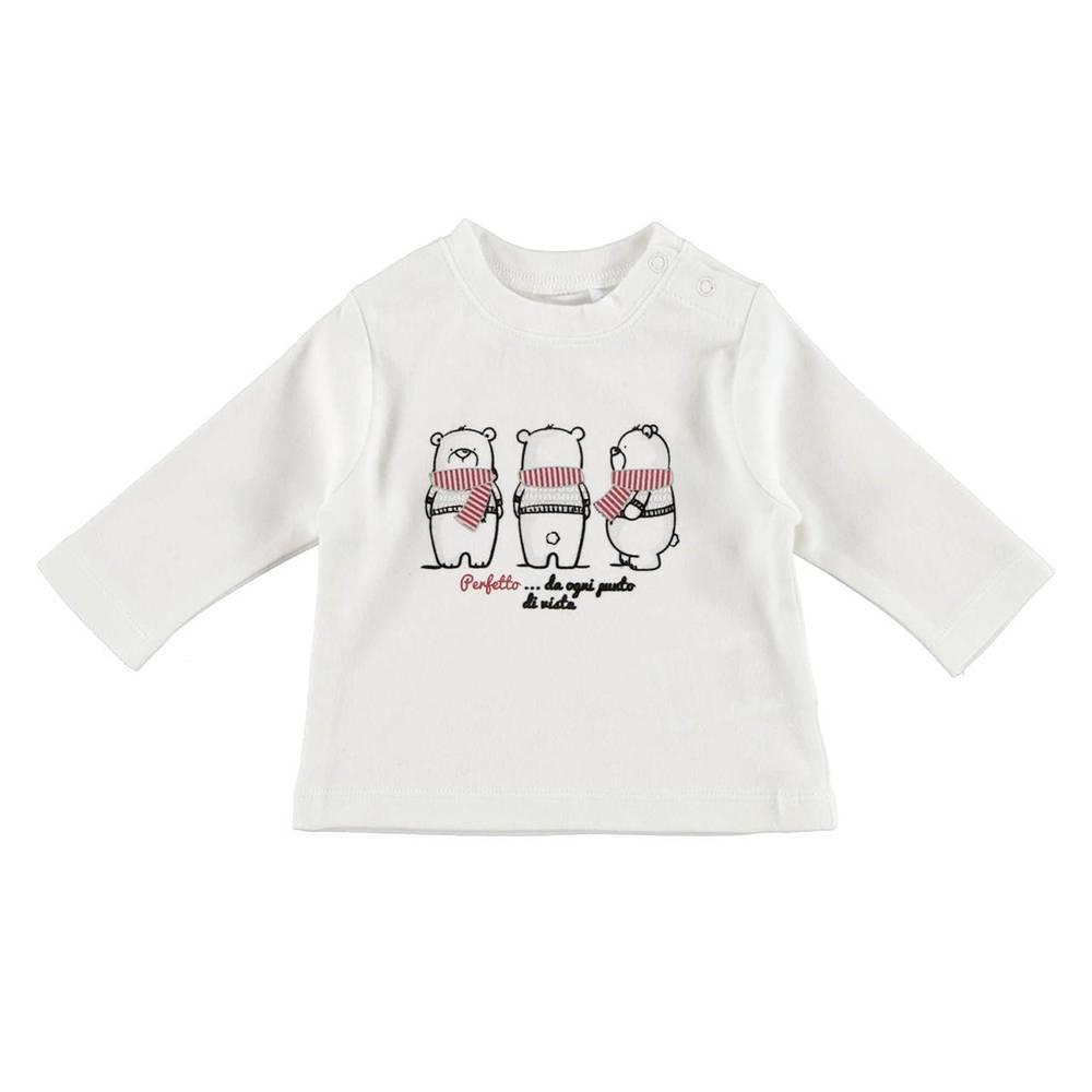 Реглан для мальчика iDO новорожденного трикотаж хлопок принт 4.V247.00/0112