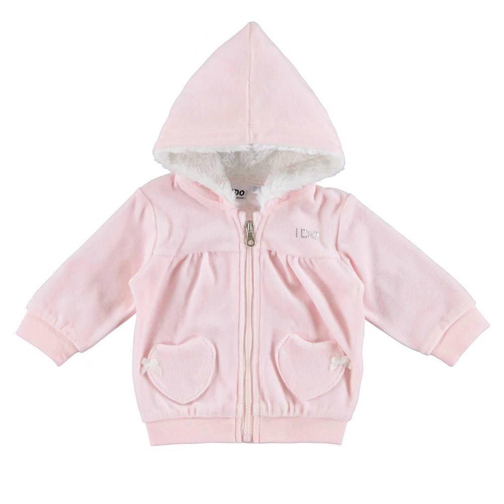 Толстовка для девочки iDO новорожденной с капюшоном 4.V405.00/5819