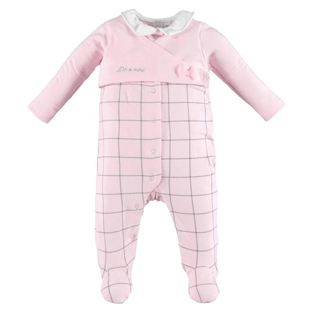 Человечек для девочки iDO розовый хлопок трикотаж 4.V442.00/8248