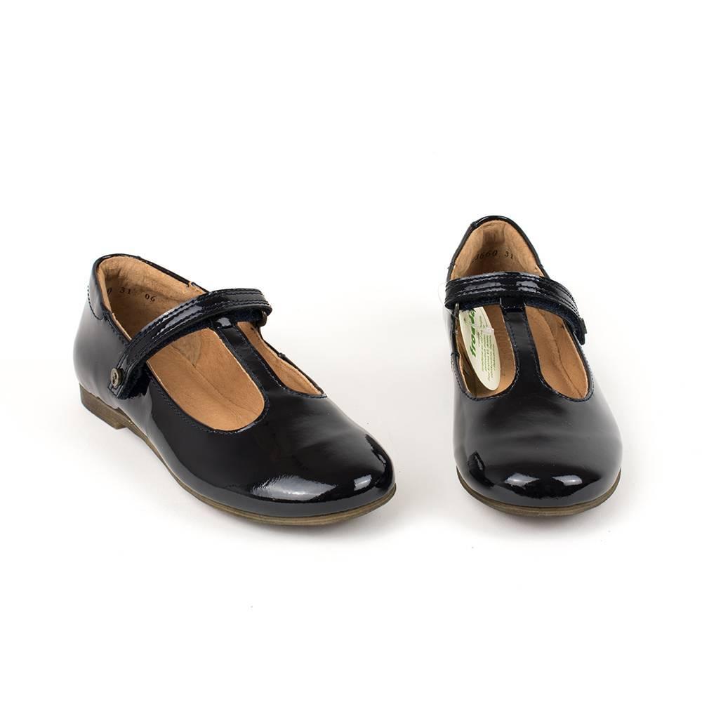 Туфли лаковые для девочки Froddo перепонка G3140078-3