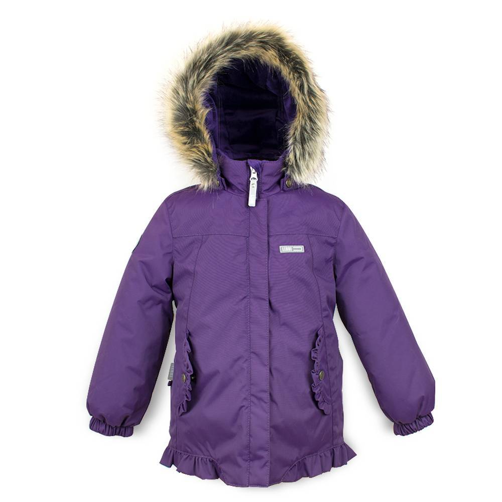 Куртка для девочки LENNE зимняя капюшон и опушка съемный FRIDA 18310/612