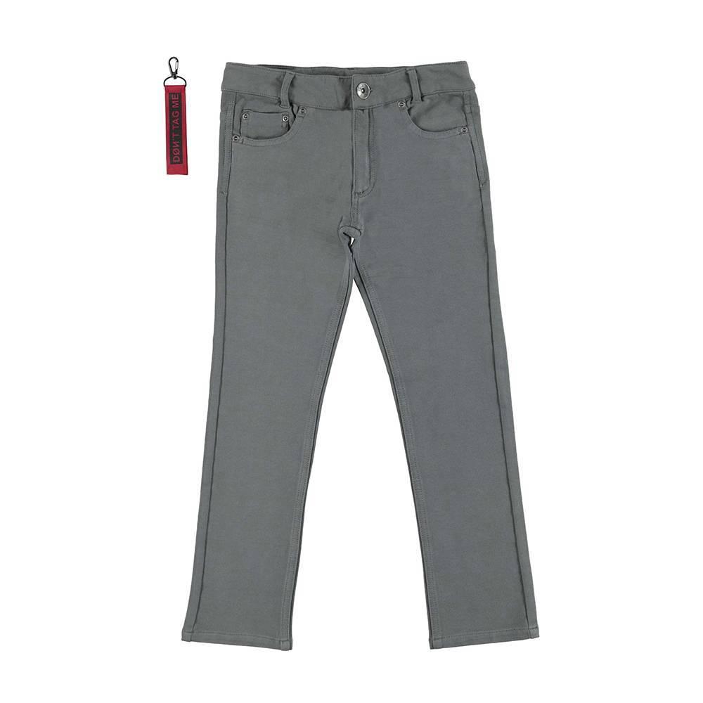 Брюки для мальчика iDO серый с брелком 4.V757.55/0564