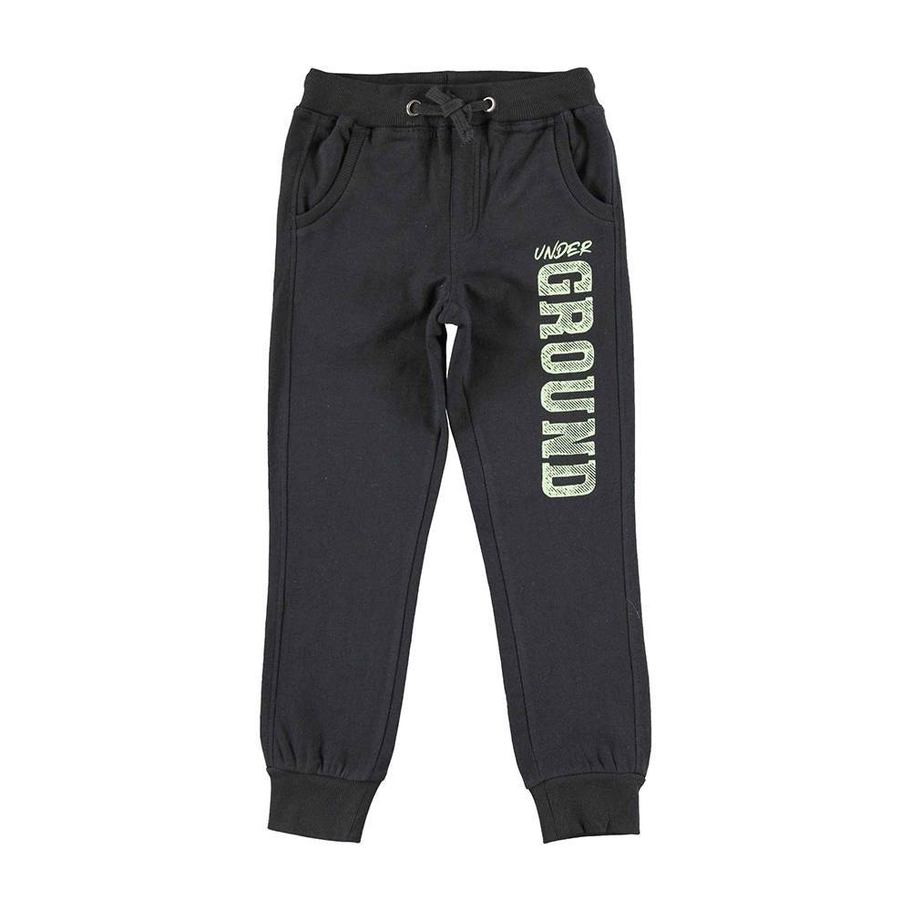 Штаны для мальчика iDO подростка спортивные теплые трикотажные с начесом 4.V770.00/0658