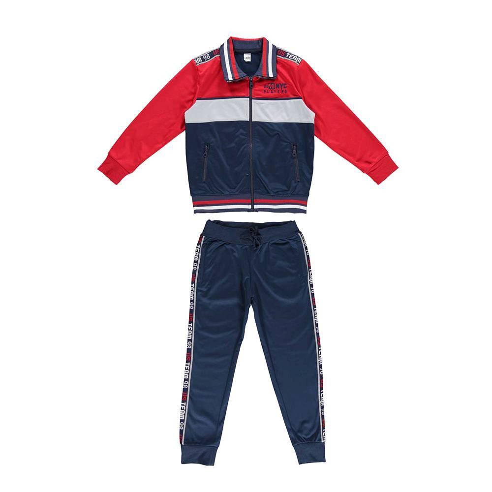 Комплект для мальчика iDO спортивный толстовка штаны 4.V814.00/8010