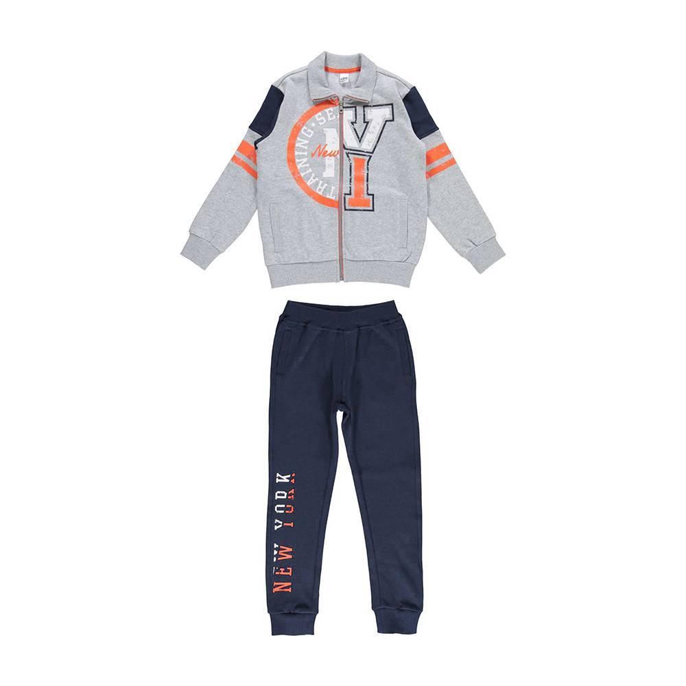 Комплект для мальчика iDO спортивный трикотажный толстовка штаны