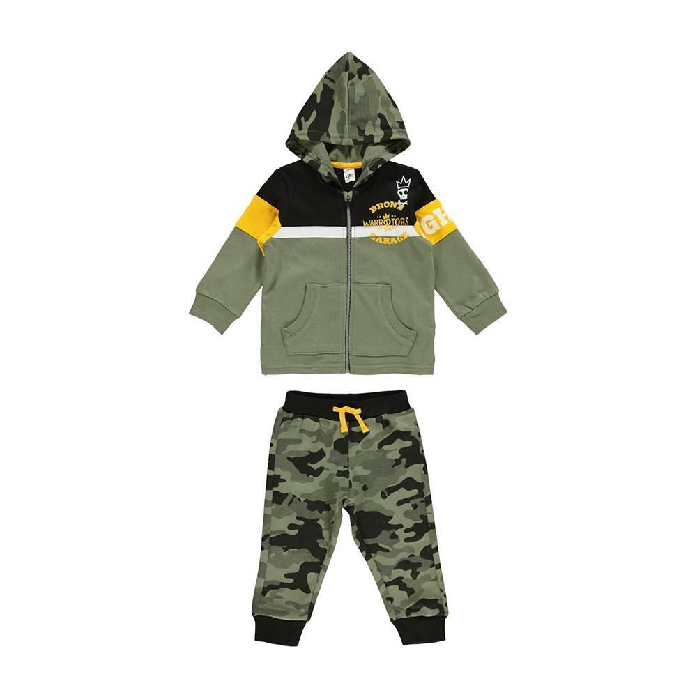 Комплект для мальчика iDO трикотажный спортивный теплый толстовка штаны 4.V580.00/8081