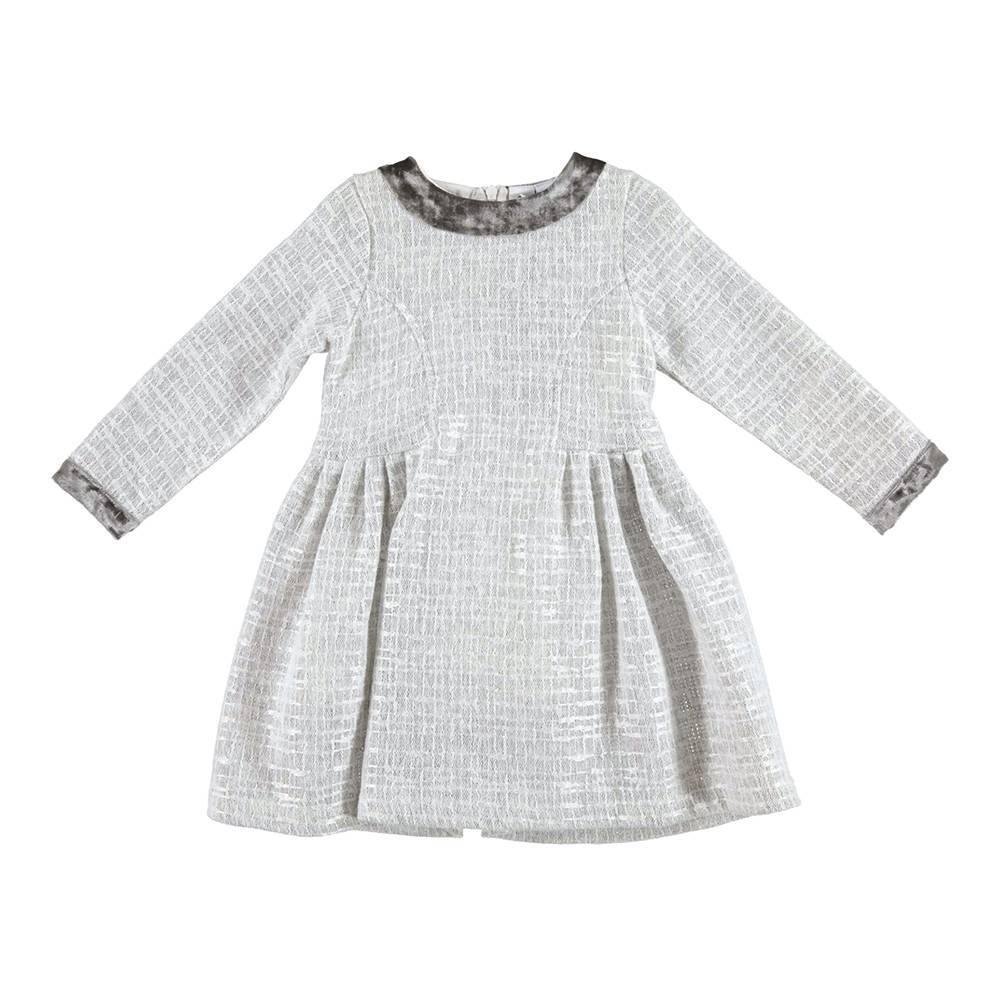 Платье для девочки iDO теплое длинное рукав 4.V635.00/8131
