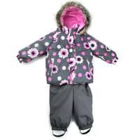 Комплект для девочки LENNE зимний куртка полукомбинезон MIIA 18313