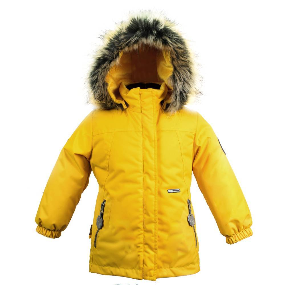 Куртка  для девочки LENNE зимняя съемный мех и капюшон ткань Active PLUS MARION
